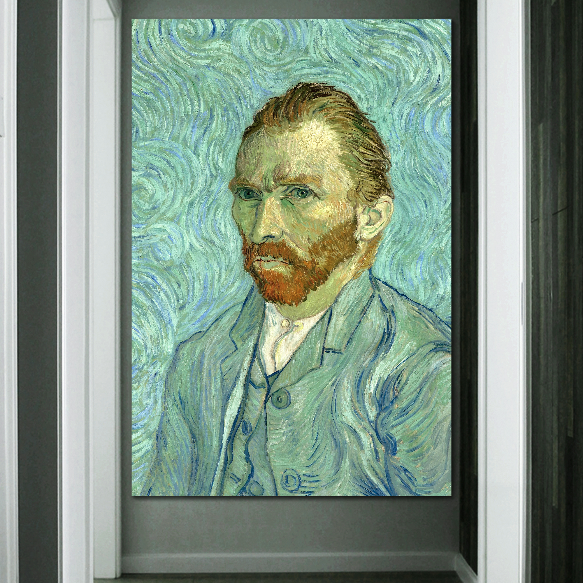 Crafted to Perfection, Astonishing Print, Self Portrait by Van Gogh