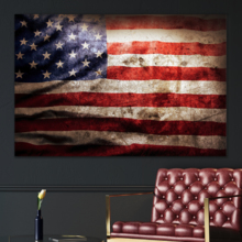 Reverie of the Flag - Canvas Art