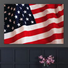 Flag of Tradition - Canvas Art