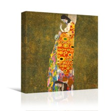 Hope II by Gustav Klimt - Canvas Art
