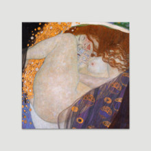 Danae by Gustav Klimt - Canvas Art Print