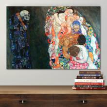 Death And Life by Gustav Klimt - Canvas Art