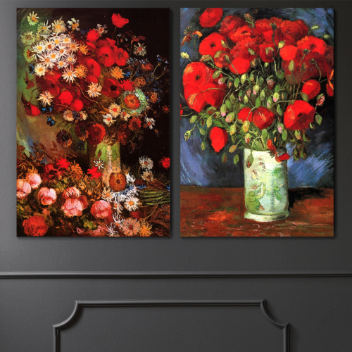 Famous Oil Painting Reproduction Replica Set of 2...