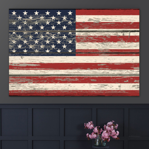 Weathered and Honored - Canvas Art