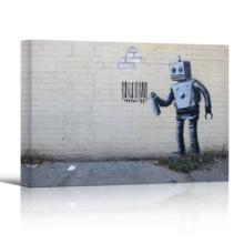 Robot Artwork by Banksy