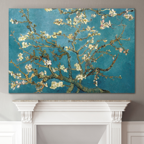 Almond Blossom by Vincent Van Gogh Wall Decor...