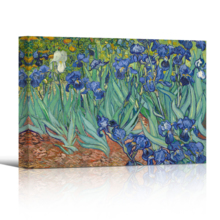 Unbelievable Portrait, Made to Last, Irises by Vincent Van Gogh Oil Painting Reproduction