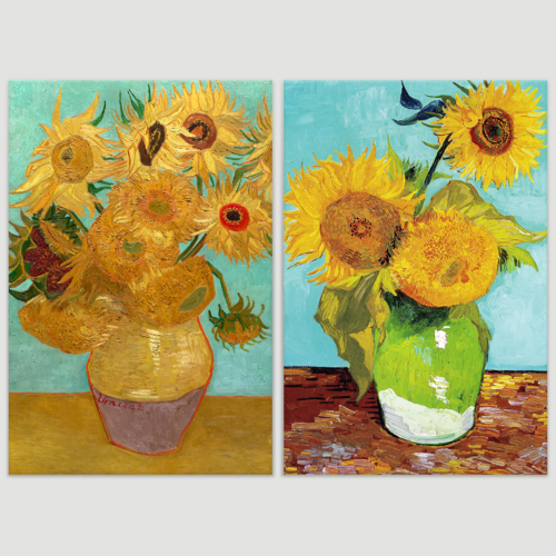 Sunflowers by Vincent Van Gogh Oil Painting Reproduction...