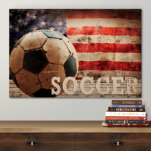 For the Love of Sports - Canvas Art