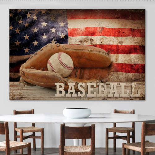 Major League Tradition - Canvas Art