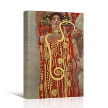 Hygieia (Detail From Medicine) by Gustav Klimt - Canvas Art Print