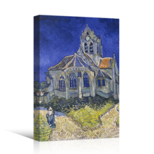 The Church At Auvers (Auvers-Sur-Oise) by Van Gogh - Canvas Print