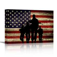 Rustic Honor - Canvas Art