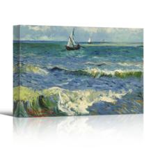 Delightful Picture, Seascape Near Les Saintes Maries De La Mer by Vincent Van Gogh Oil Painting Reproduction, Professional Creation