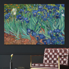 Irises by Van Gogh - Canvas Print