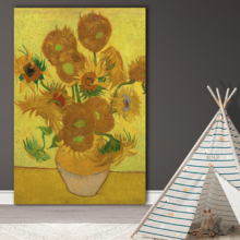 The Sunflowers by Vincent Van Gogh Oil Painting Reproduction, With a Professional Touch, Dazzling Composition