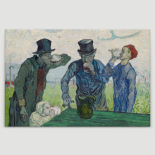 Premium Product, Magnificent Creative Design, The Drinkers Vincent Van Gogh Oil Painting Reproduction