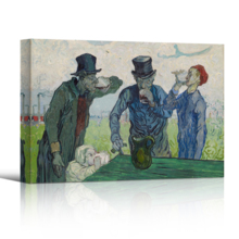 The Drinkers by Van Gogh - Canvas Print