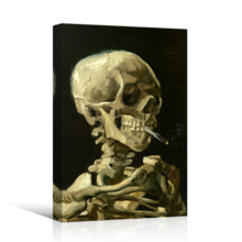 Incredible Artistry, Created Just For You, Skeleton by Vincent Van Gogh Painting Wall Decor