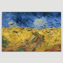 Wheatfield With Crows by Van Gogh - Canvas Art Print
