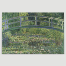 The Water-Lily Pond by Claude Monet - Canvas Art