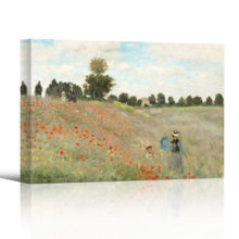 Gorgeous Craft, Famous Painting of Poppy Fieldby Claude Monet, With a Professional Touch