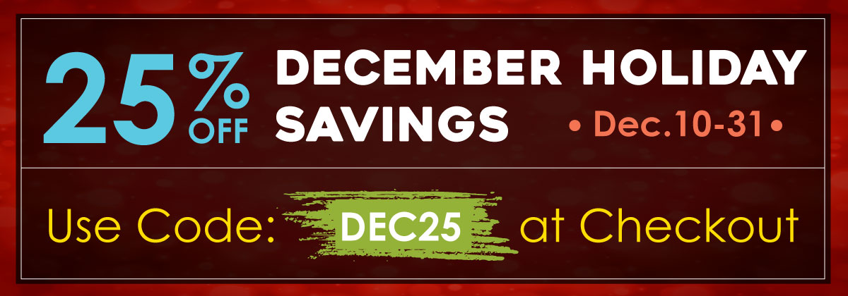 Home Page December Sale Slider Banner