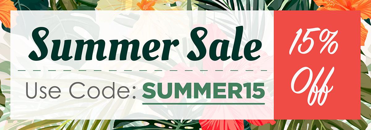 Home Page Summer Sale Slider Banner